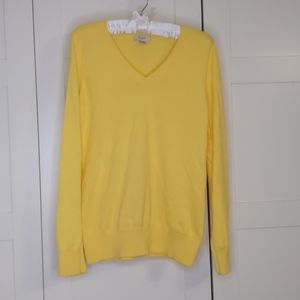 Canary Yellow Lightweight Sweater